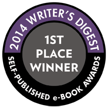 """""""Mabel the Lovelorn Dwarf"""" Placed 1st in the 2014 Writer's Digest Self-Pubslished e-Book Awards in the Middle Grade/YA Category."""